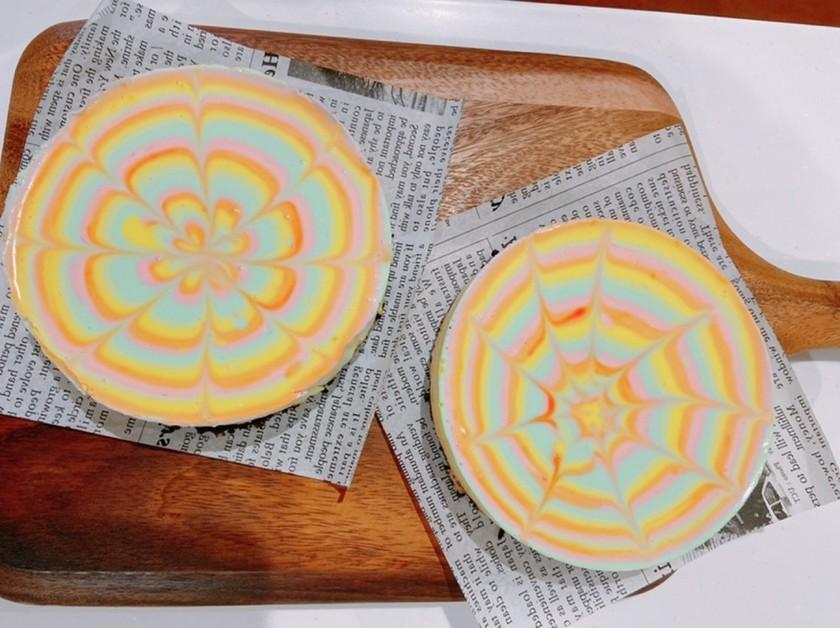 レインボー☆レアチーズケーキ