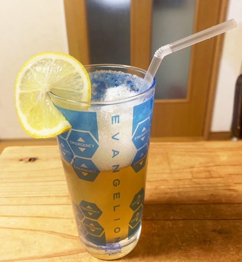 天然ビタミンC♪喫茶店のレモンスカッシュ