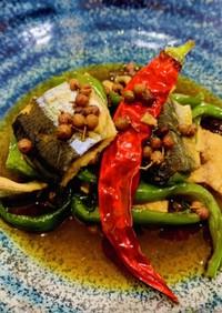 秋刀魚の花椒煮