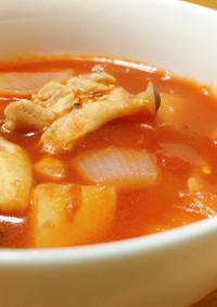 ミネストローネ風トマトスープ☆