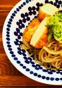 魚河岸揚げと糸蒟蒻の和洋炒め煮