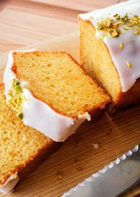 HKMで簡単♪レモンのパウンドケーキ