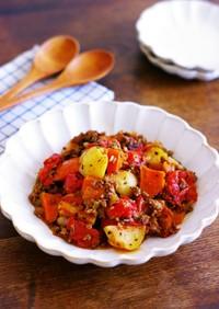 イタリアンなトマト肉じゃが