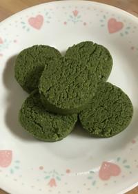 抹茶クッキー (バター不使用)