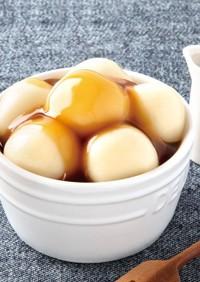 ヘルシー豆腐白玉