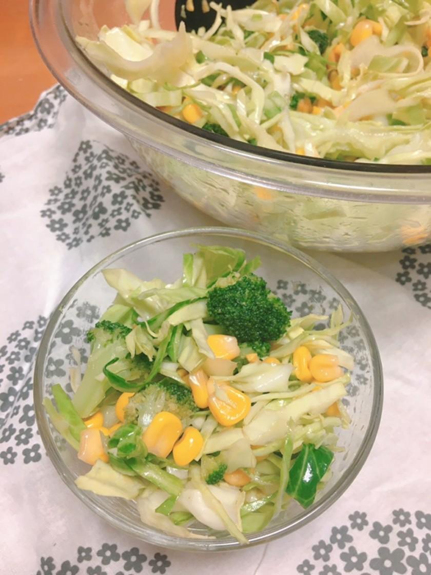 自家製ドレッシングのサラダ