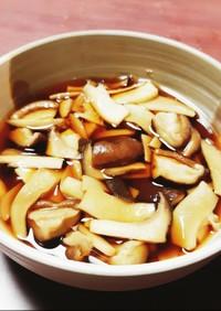 作り置き◎しいたけとエリンギの甘辛煮