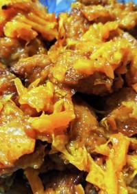 豚肉のマーマレード煮