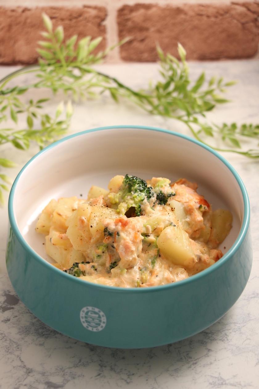 簡単!銀鮭ポテトのチーズクリーム煮