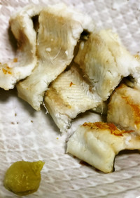 漁獲量トップの醍醐味アナゴの白焼き