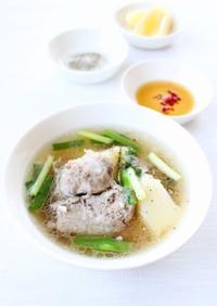 【リブとじゃがいものベトナム風スープ】
