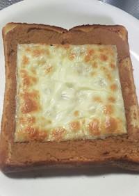 きなこチーズトースト〜甘じょっぱ♡