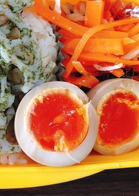 簡単!半熟味付け卵