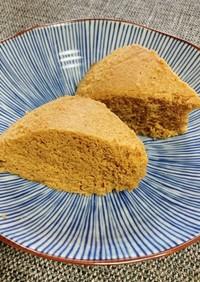 和風☆きなことおからパウダーの卵蒸しパン