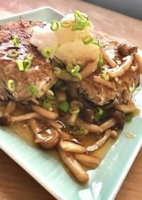 和風豆腐ハンバーグ