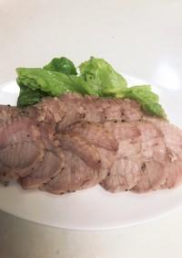 炊飯器で豚ローストポーク風
