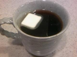 体が温まる☆バターコーヒー