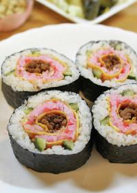 母の日!食べられるお花のプレゼント寿司
