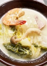 簡単豆乳鍋(スープ)