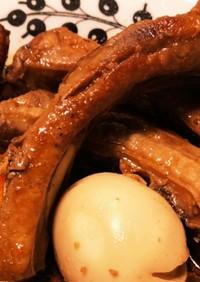 豚スペアリブ のにんにく酢醤油煮