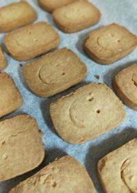 素朴なクッキー