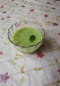 春キャベツと白すり胡麻のスープ