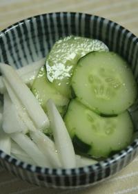 さっぱりシャキシャキ☆長芋の酢の物