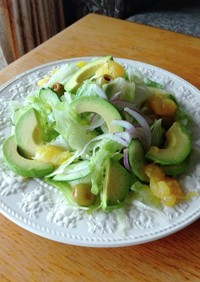 アボカド グレープフルーツ サラダ