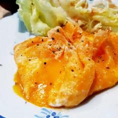 エッグベール(チーズで包んだ卵)