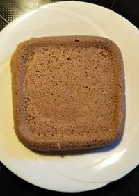 レンジで簡単!おからミロ蒸しケーキ