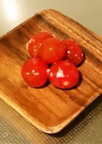 ミニトマトの塩麴漬け