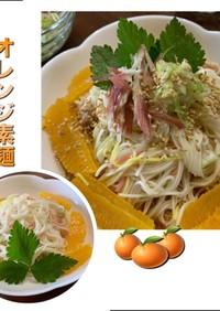 オレンジ素麺