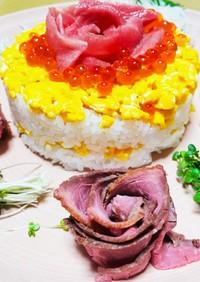 母の日嬉しい!!!ワンプレートちらし寿司