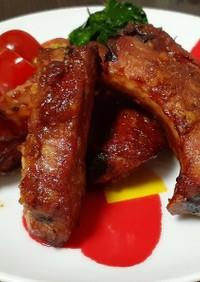 豚スペアリブのジューシーオーブン焼