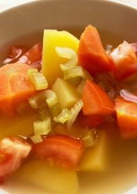 大人のセロリ スープ