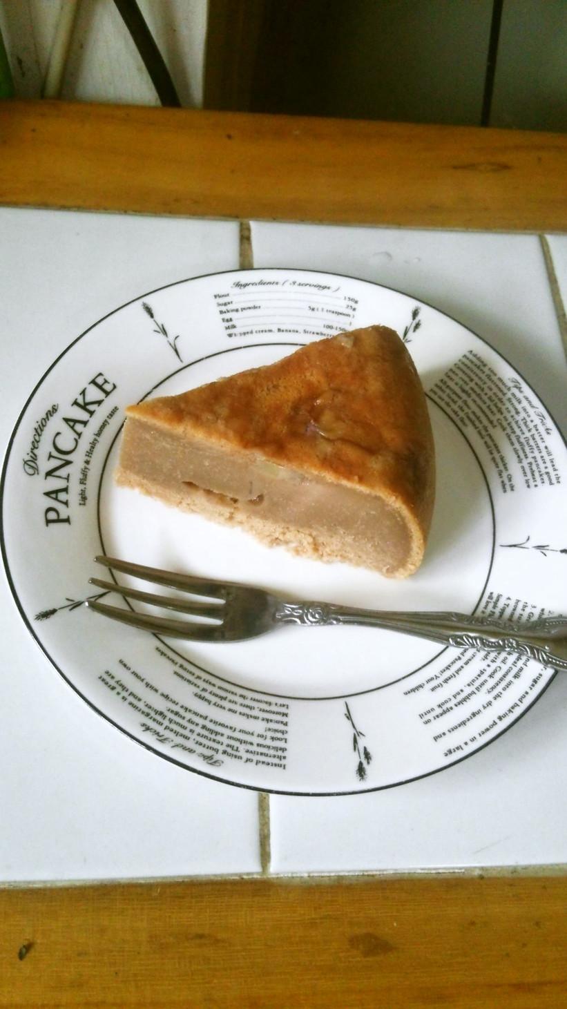チョコバナナ豆乳ケーキ