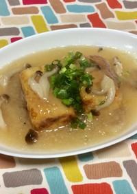 超簡単☆だし味きいてるみぞれ揚げ出し豆腐