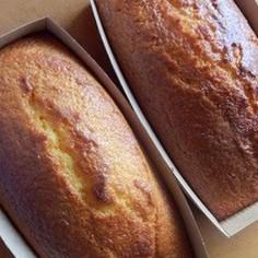 しっとりパウンドケーキ