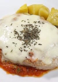 モッツァレラチーズと豚ロースのソテー