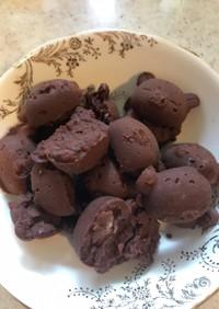 アイラップで作るオートミールチョコレート
