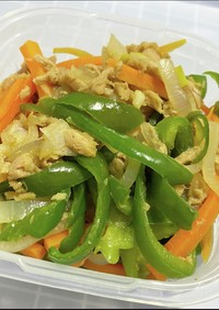 高タンパクでヘルシーツナ野菜炒め