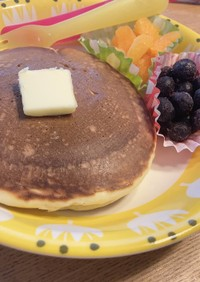 ★小麦粉から作るパンケーキ★