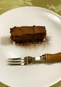 幸せのローケーキ☆アボカドチョコベリー