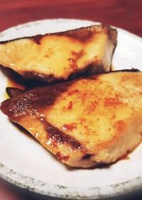 バターポン酢◎ブリの照り焼き