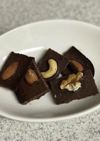 無添加チョコレート 非加熱混ぜるだけ
