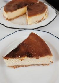【シンプル】ベイクドチーズケーキ