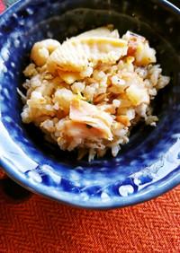 タケノコご飯de炒飯