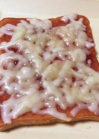 簡単ピザ風トースト
