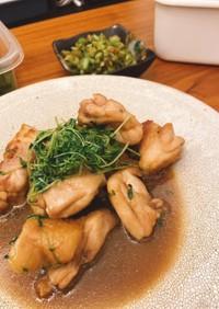 ご飯に合う鶏肉甘煮