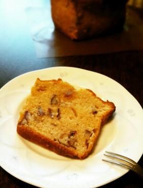 マロンクリームのしっとりパウンドケーキ